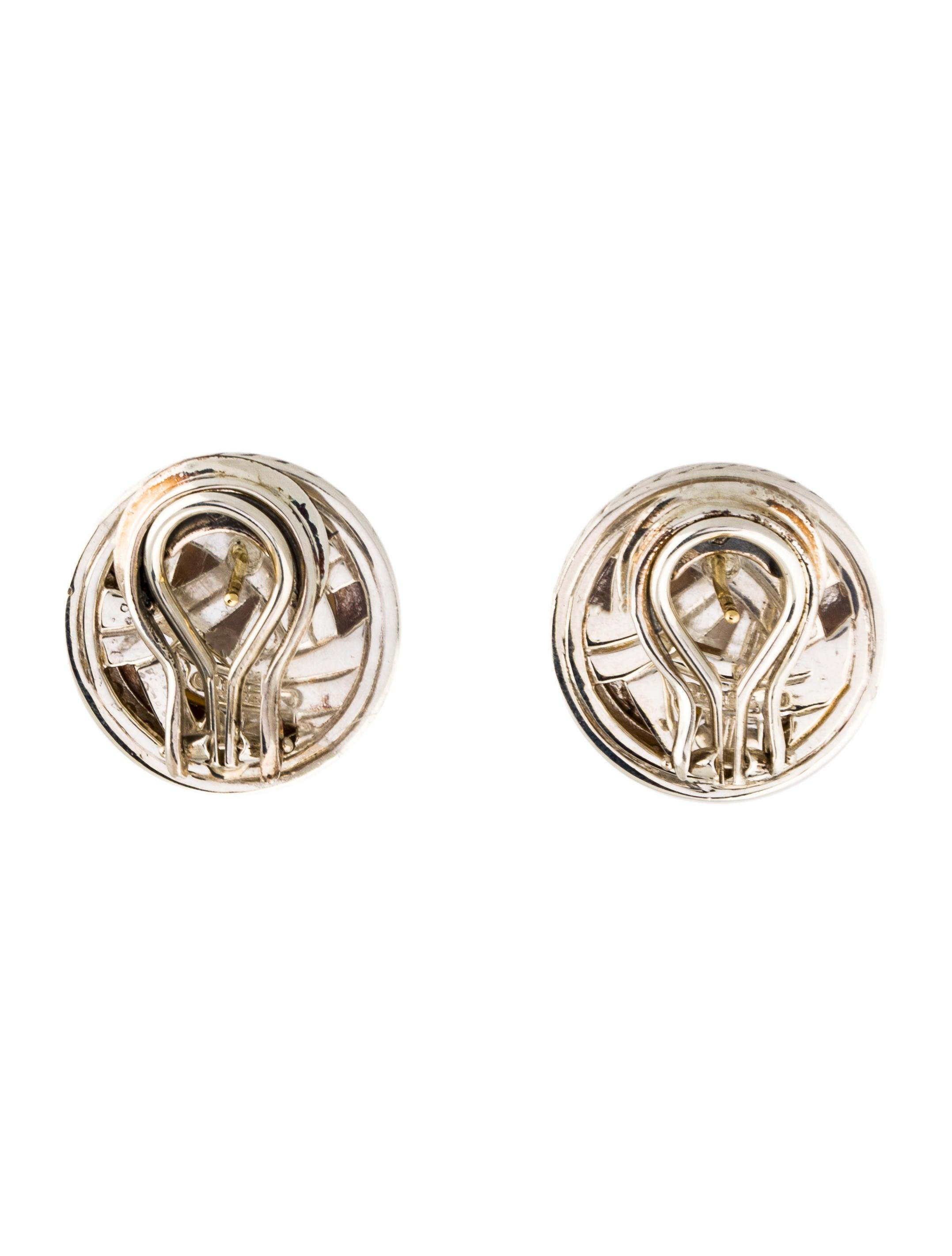 david yurman cerise pearl diamond clip on earrings. Black Bedroom Furniture Sets. Home Design Ideas