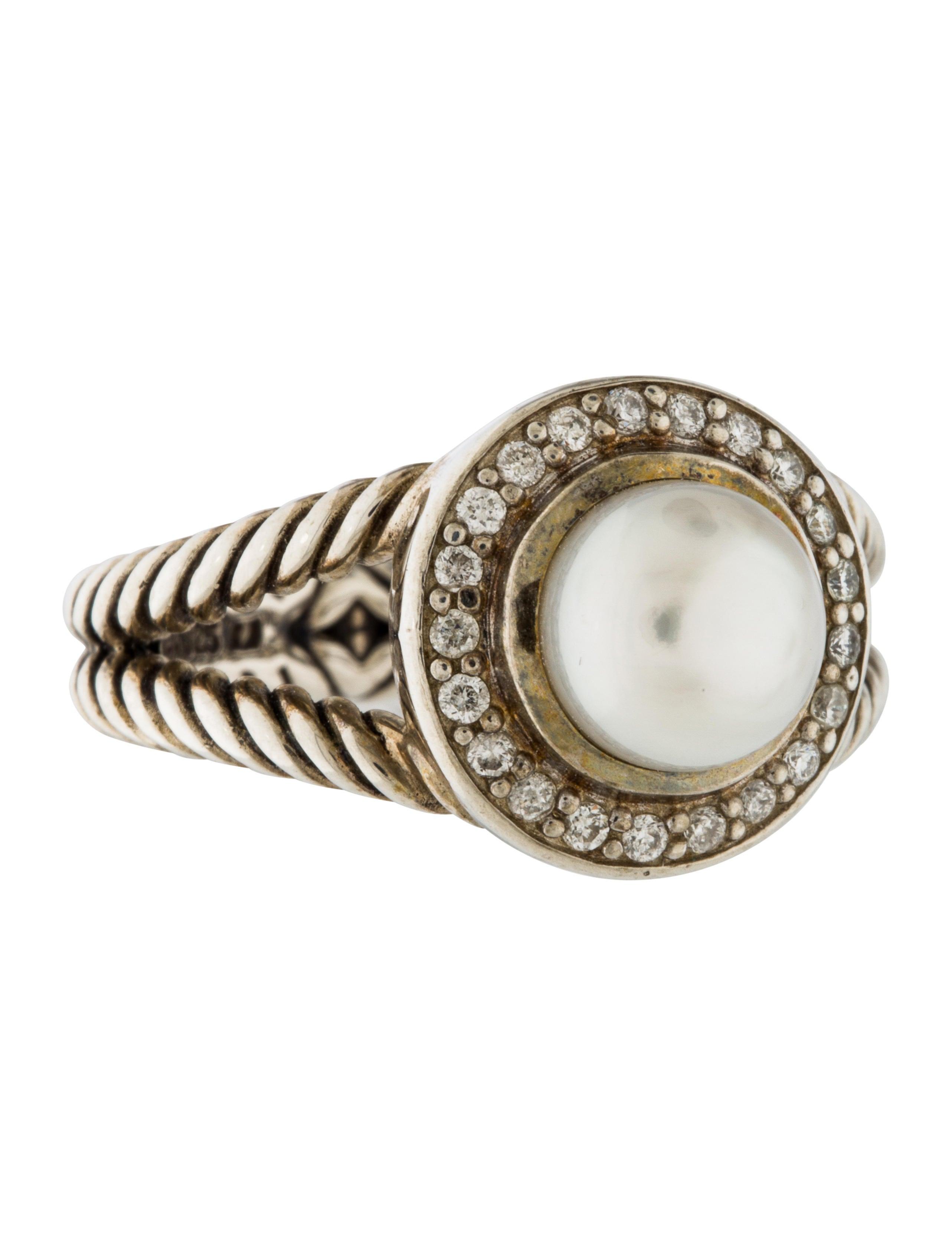 david yurman pearl cocktail ring rings