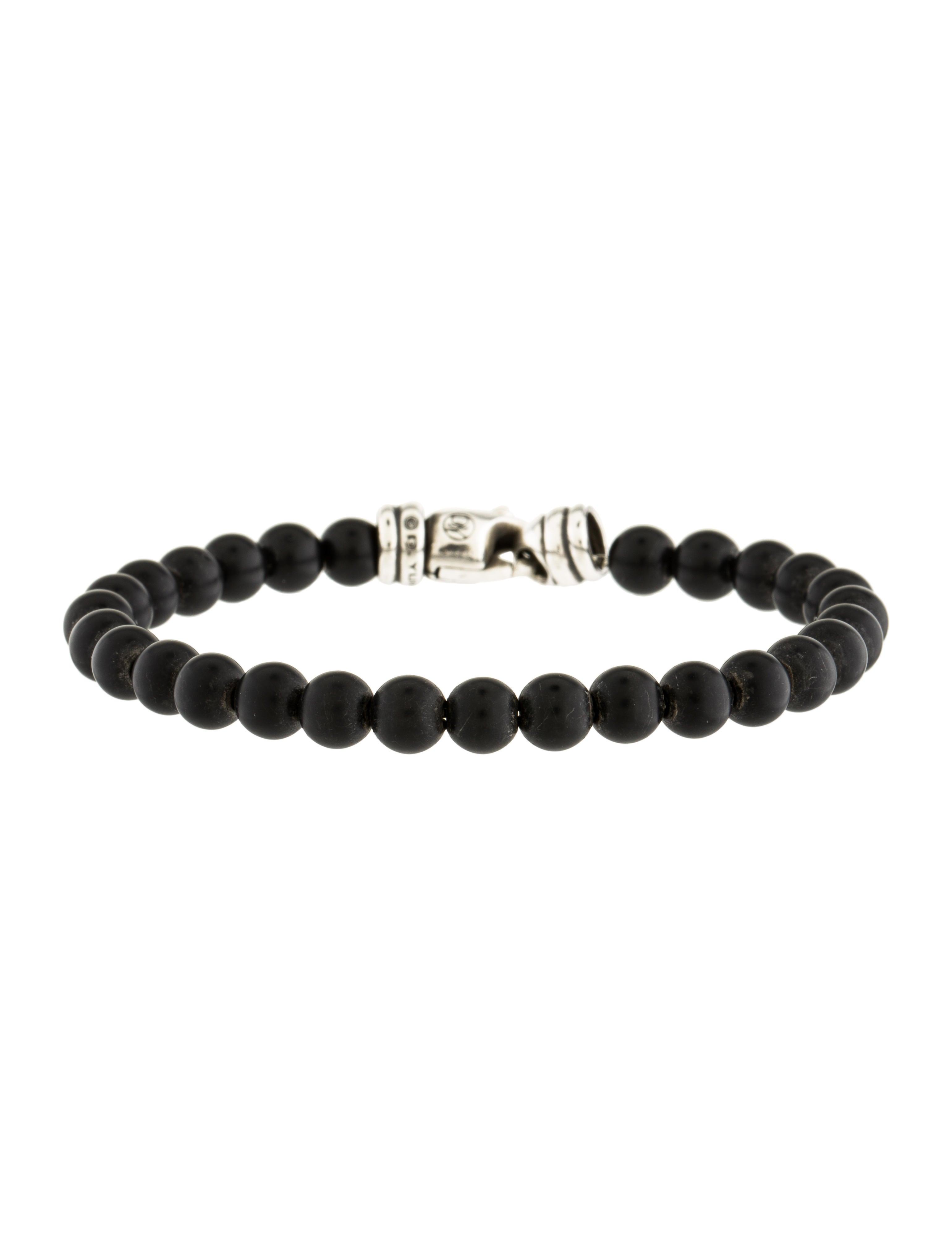david yurman onyx bead bracelet bracelets dvy39441