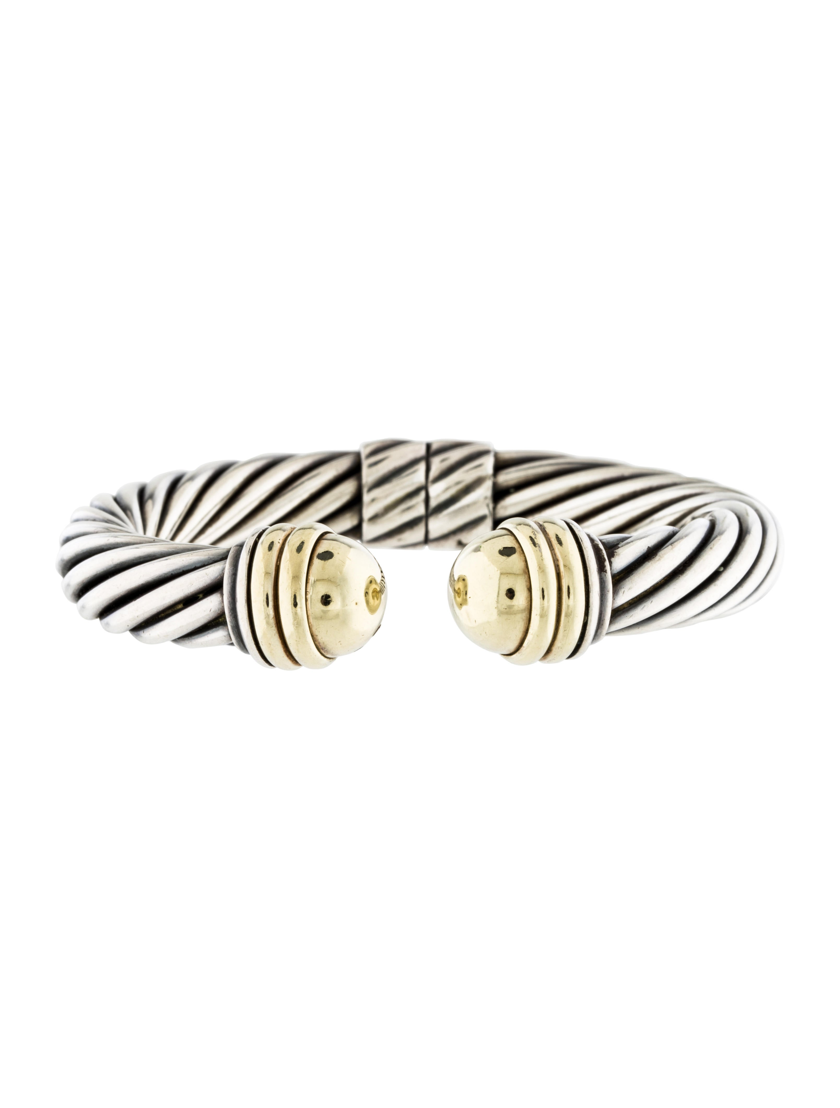 David yurman cable classics cuff bracelet bracelets for David yurman inspired bracelet cable