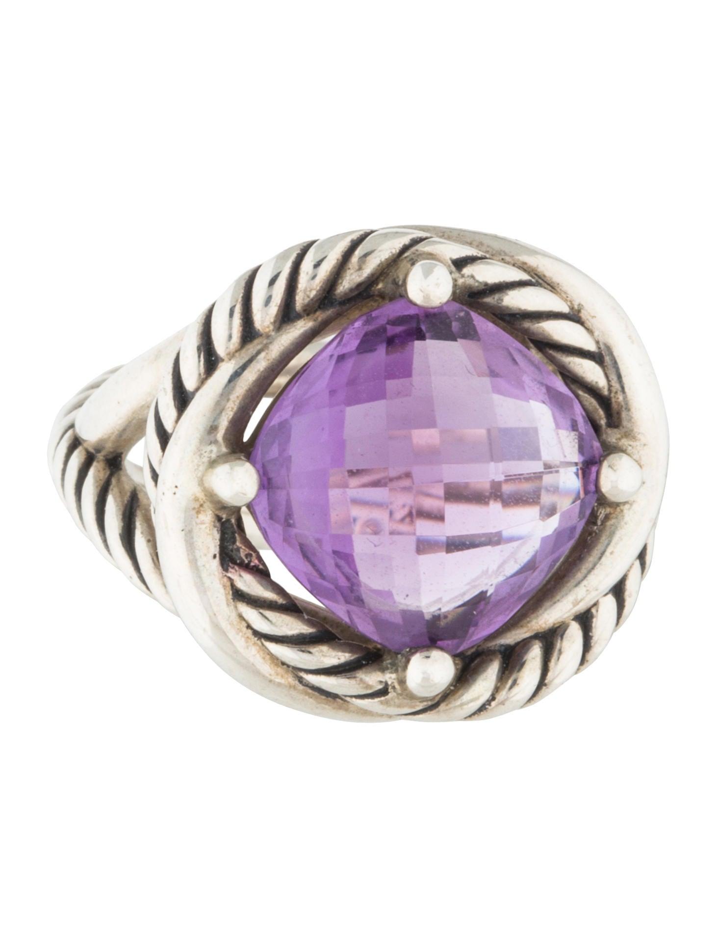 David Yurman Amethyst Infinity Ring Rings Dvy39462