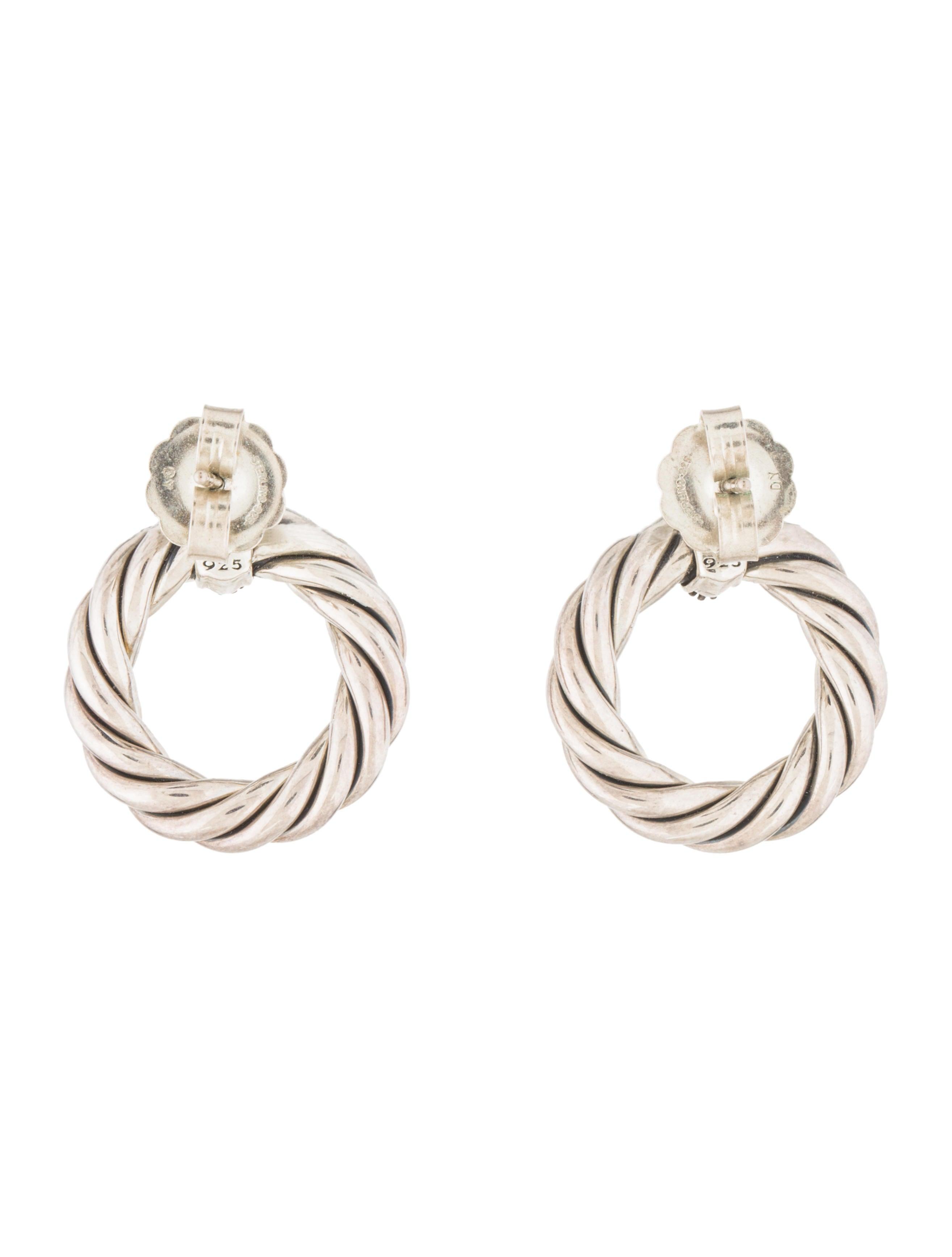 david yurman crossover earrings earrings