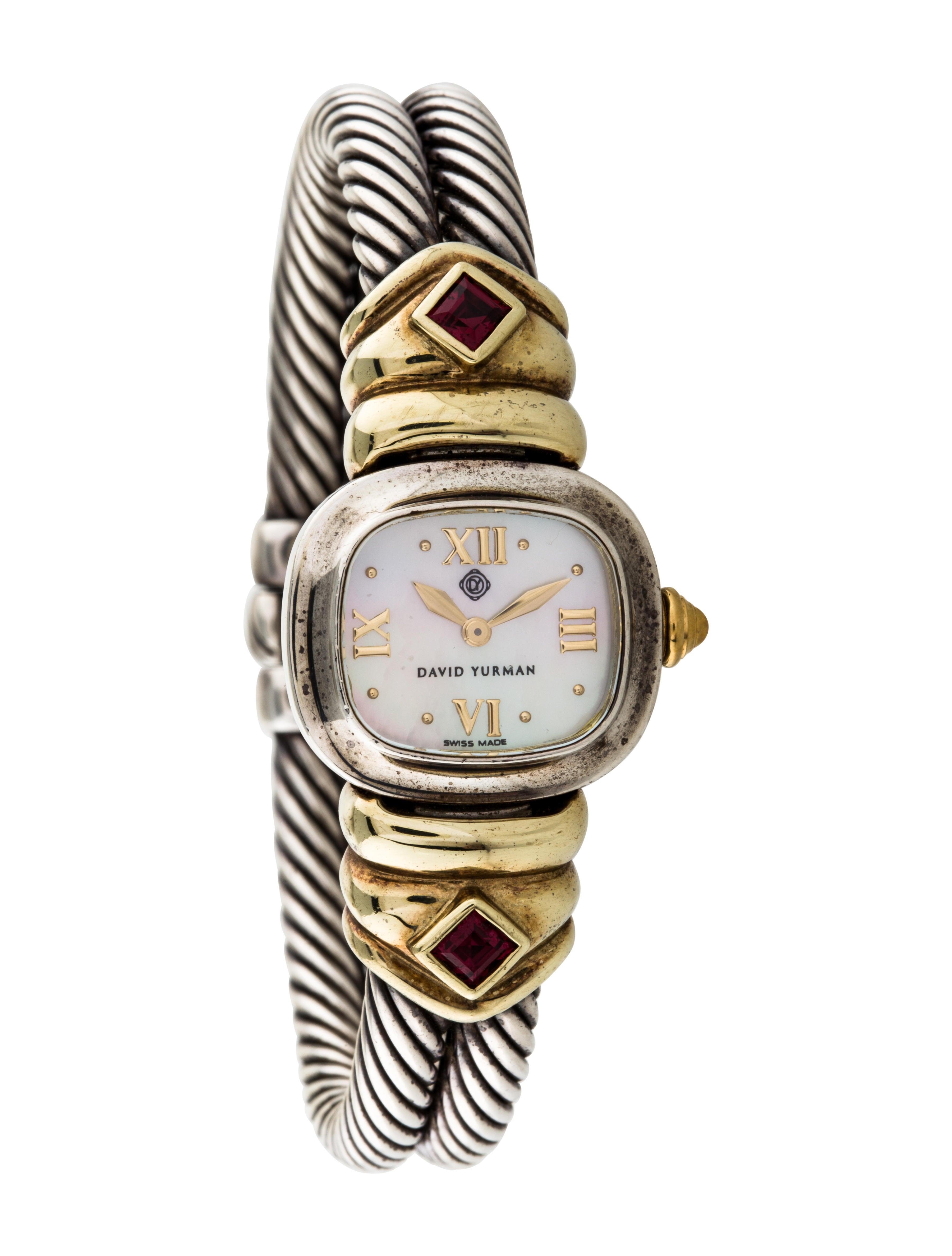 David Yurman Cable Watch Bracelet Dvy40787 The Realreal