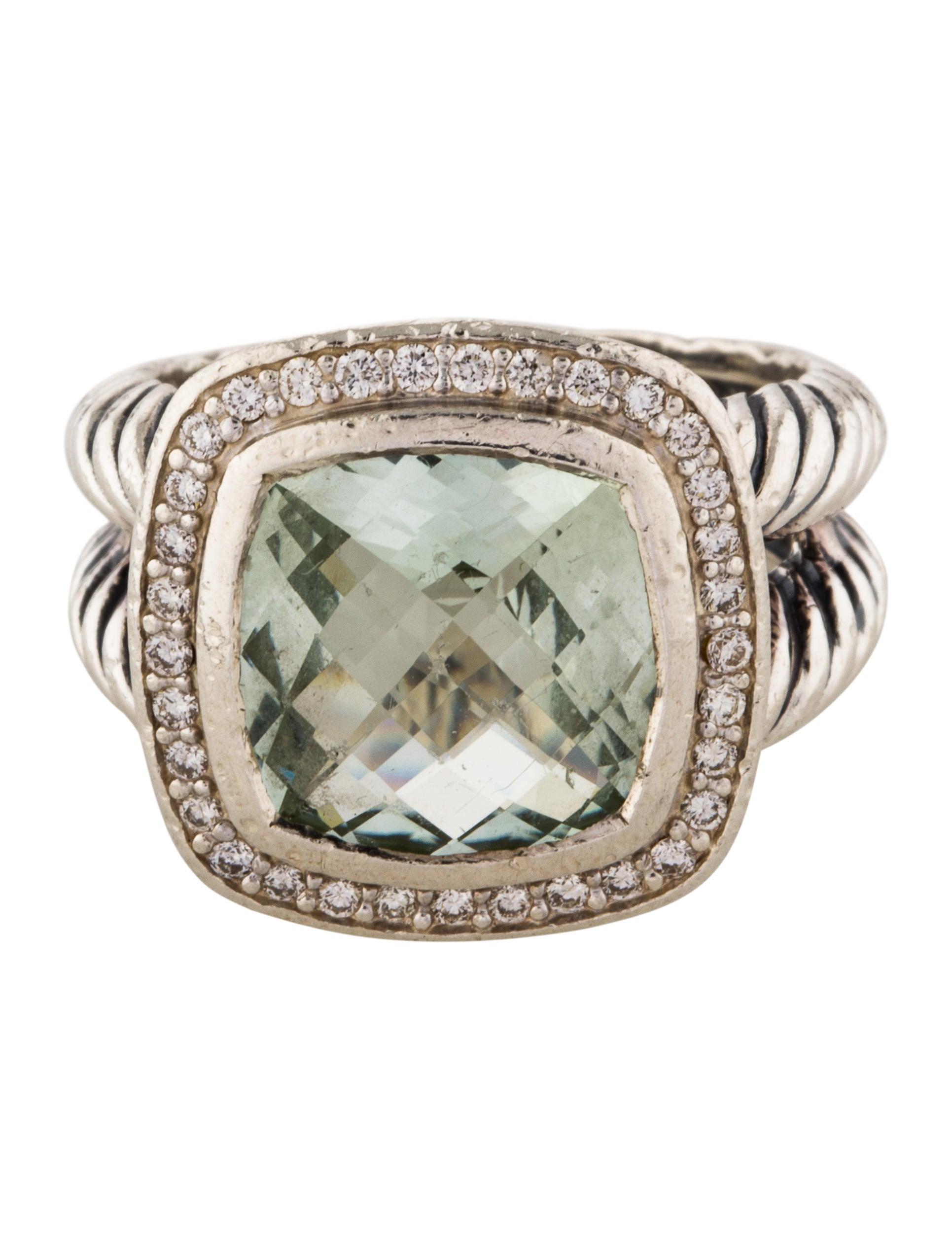 david yurman diamonds prasiolite albion ring rings