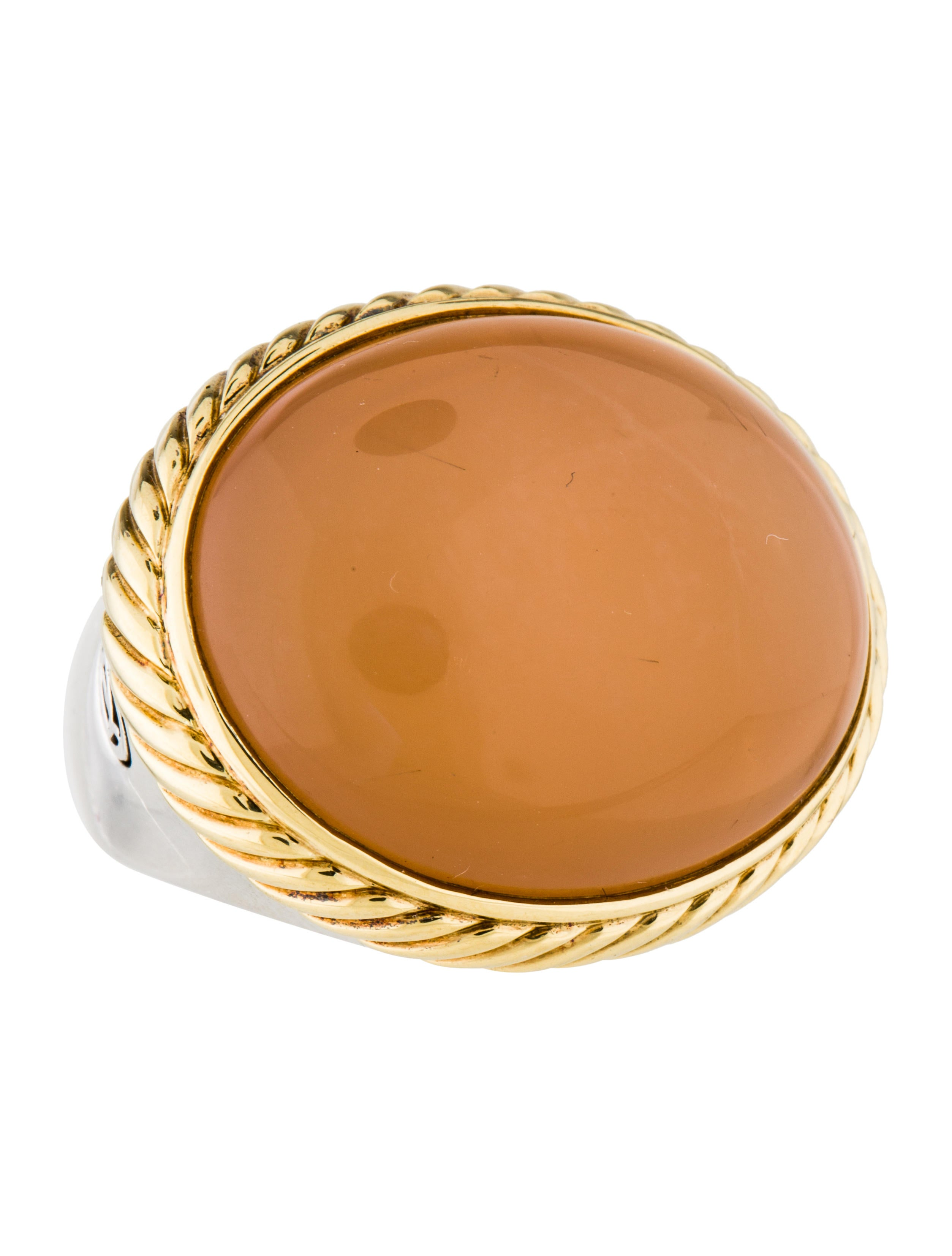 David yurman moonstone cocktail ring rings dvy40842 for David yurman inspired jewelry rings