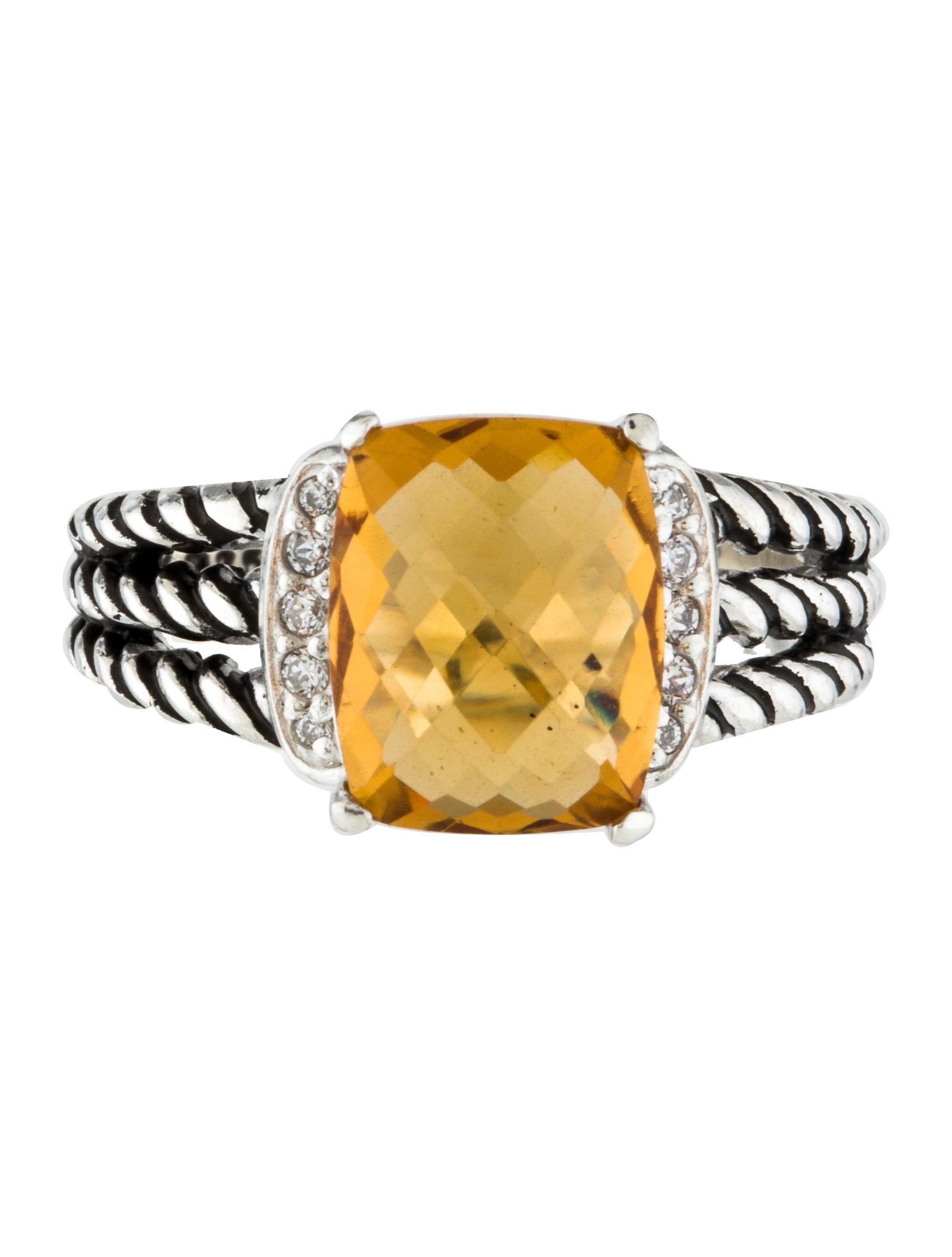 David Yurman Wheaton Diamond Ring