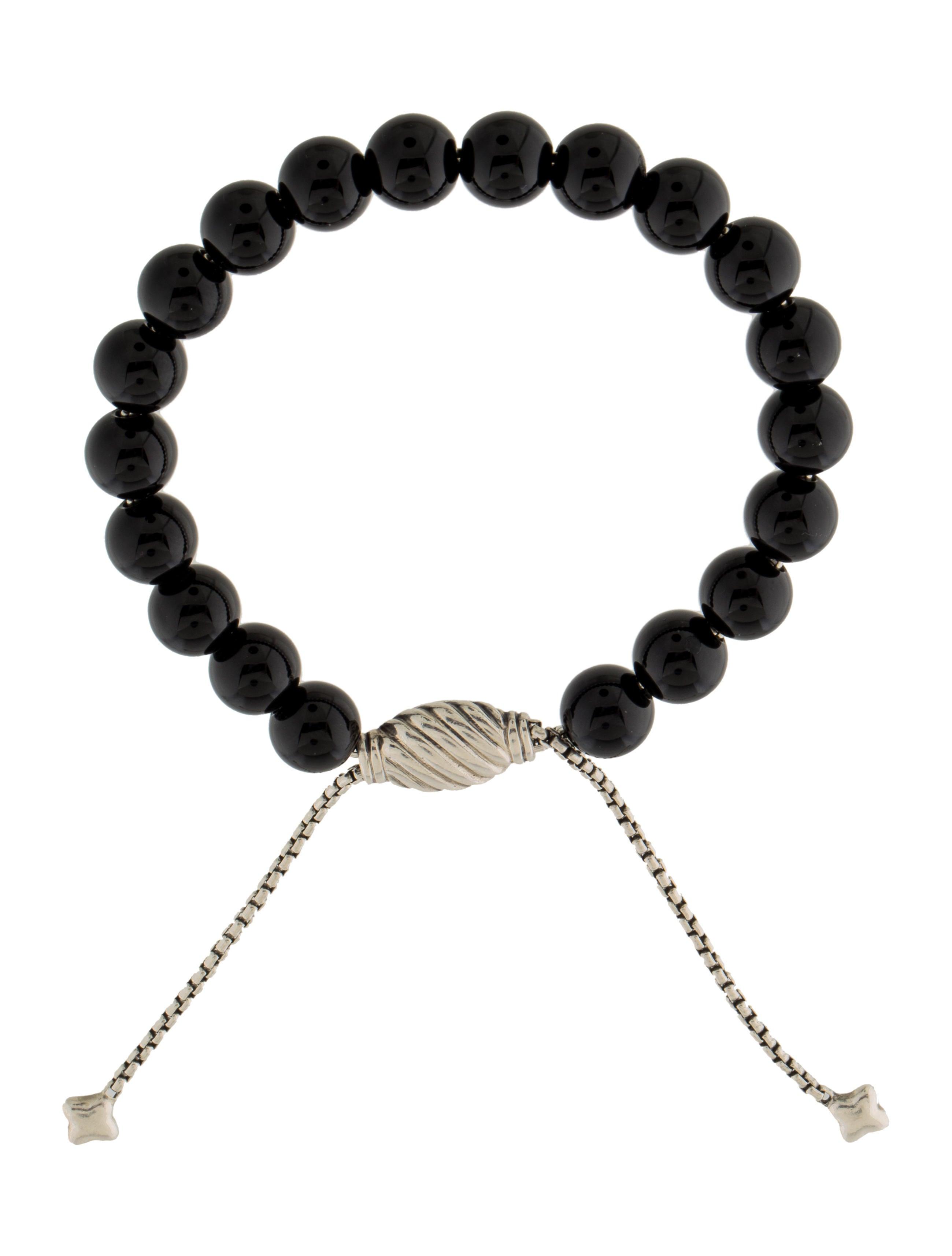 david yurman onyx spiritual bead bracelet bracelets
