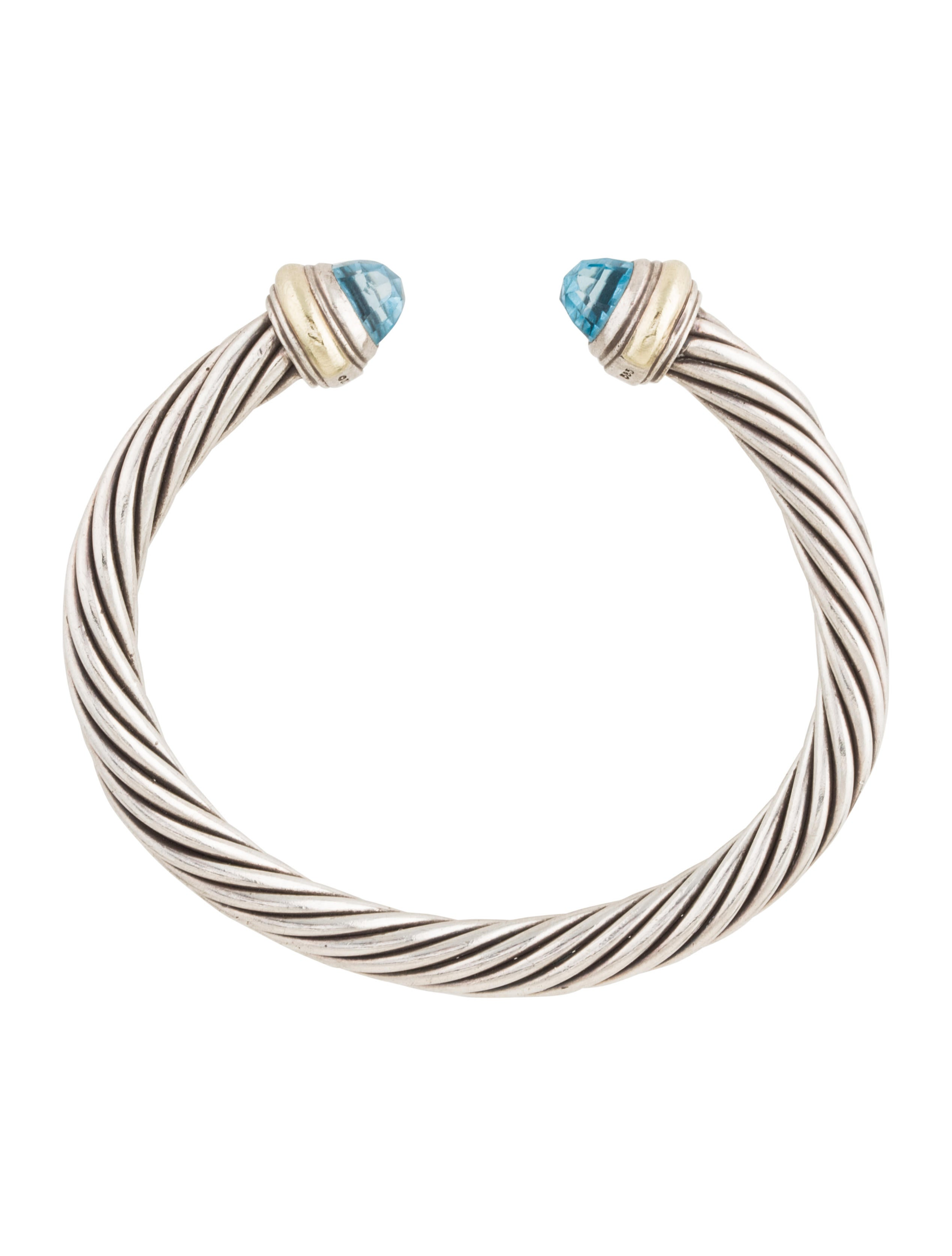 David yurman topaz cable classics bracelet bracelets for David yurman inspired bracelet cable