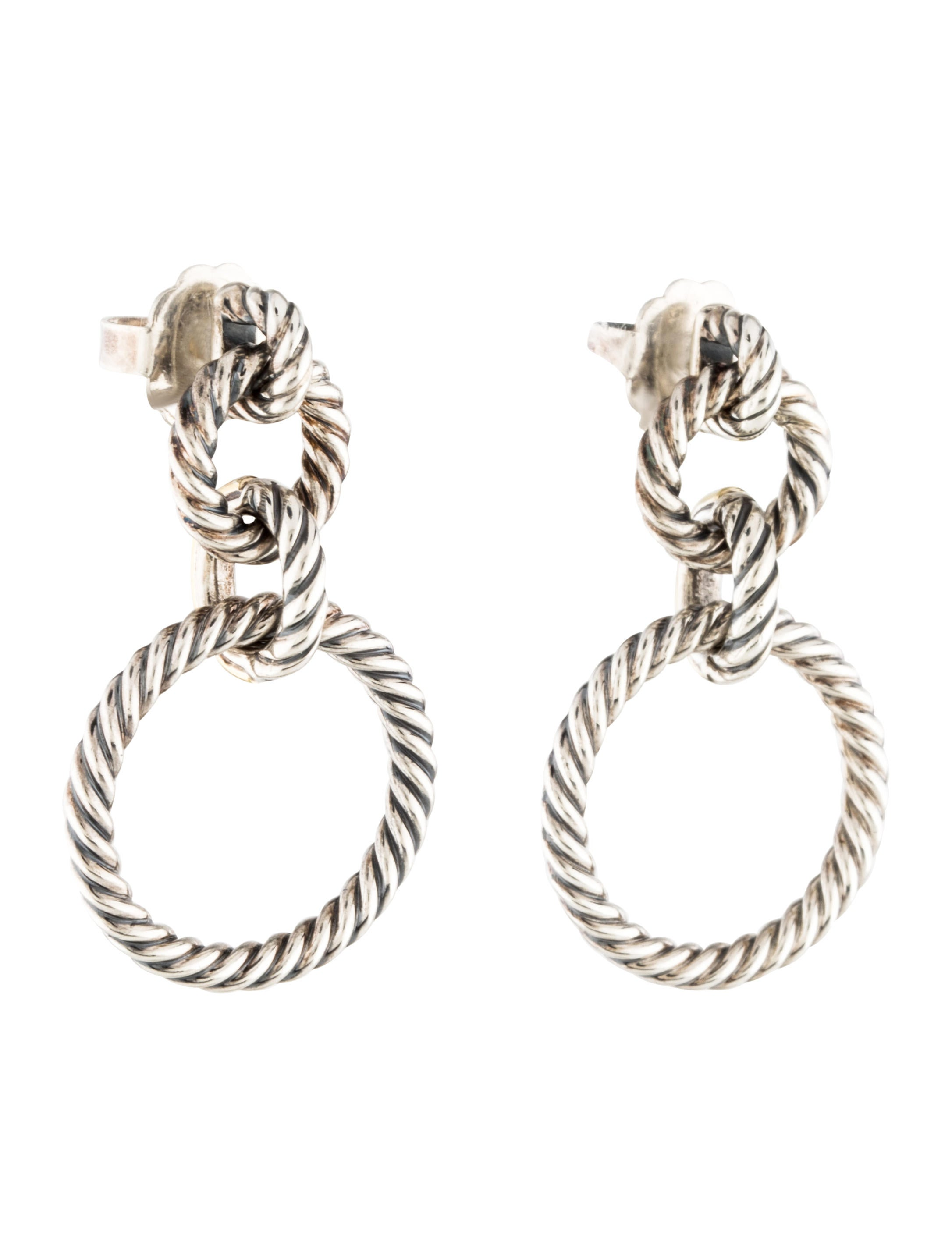 david yurman earrings sale david yurman doorknocker drop earrings earrings 3399