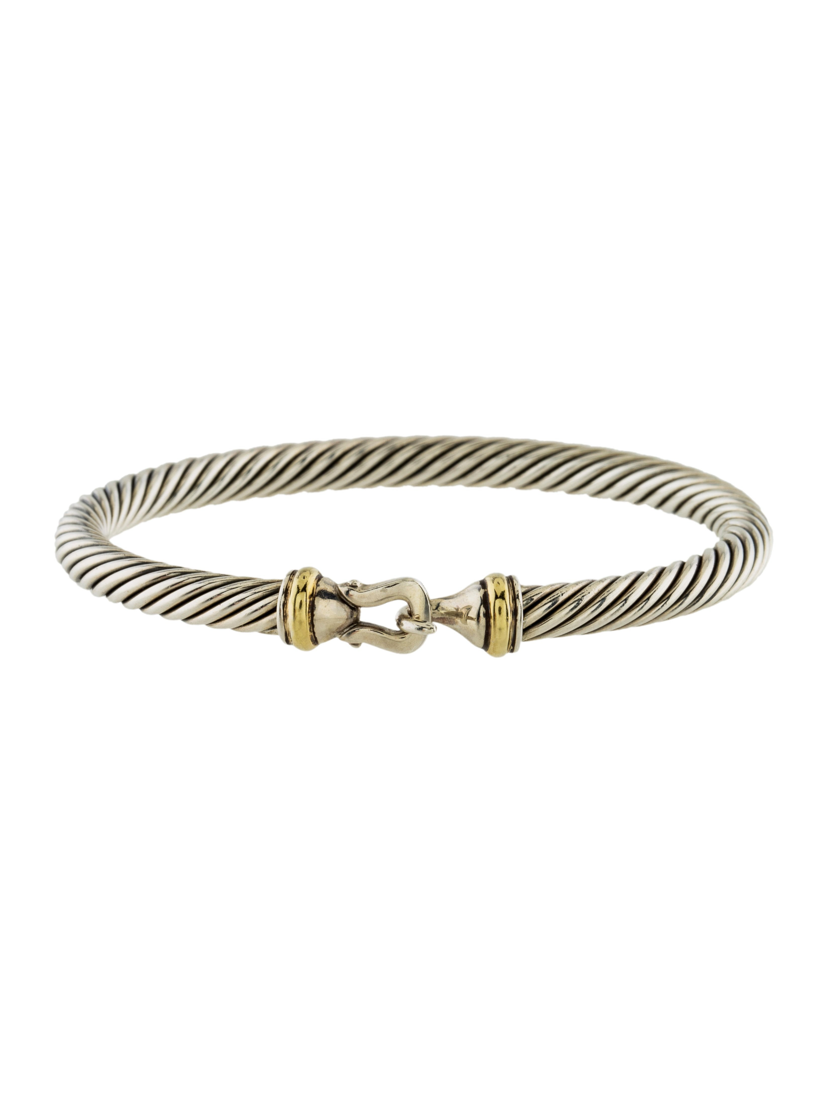 David yurman cable classic buckle bracelet bracelets for David yurman inspired bracelet cable