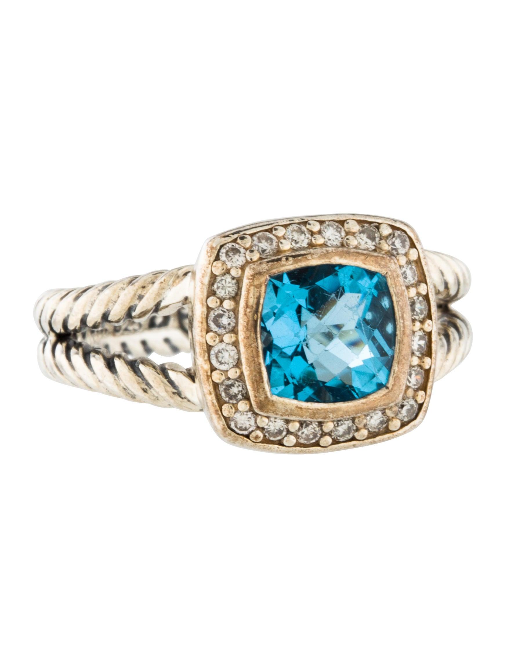 David Yurman Diamond Ring Sale