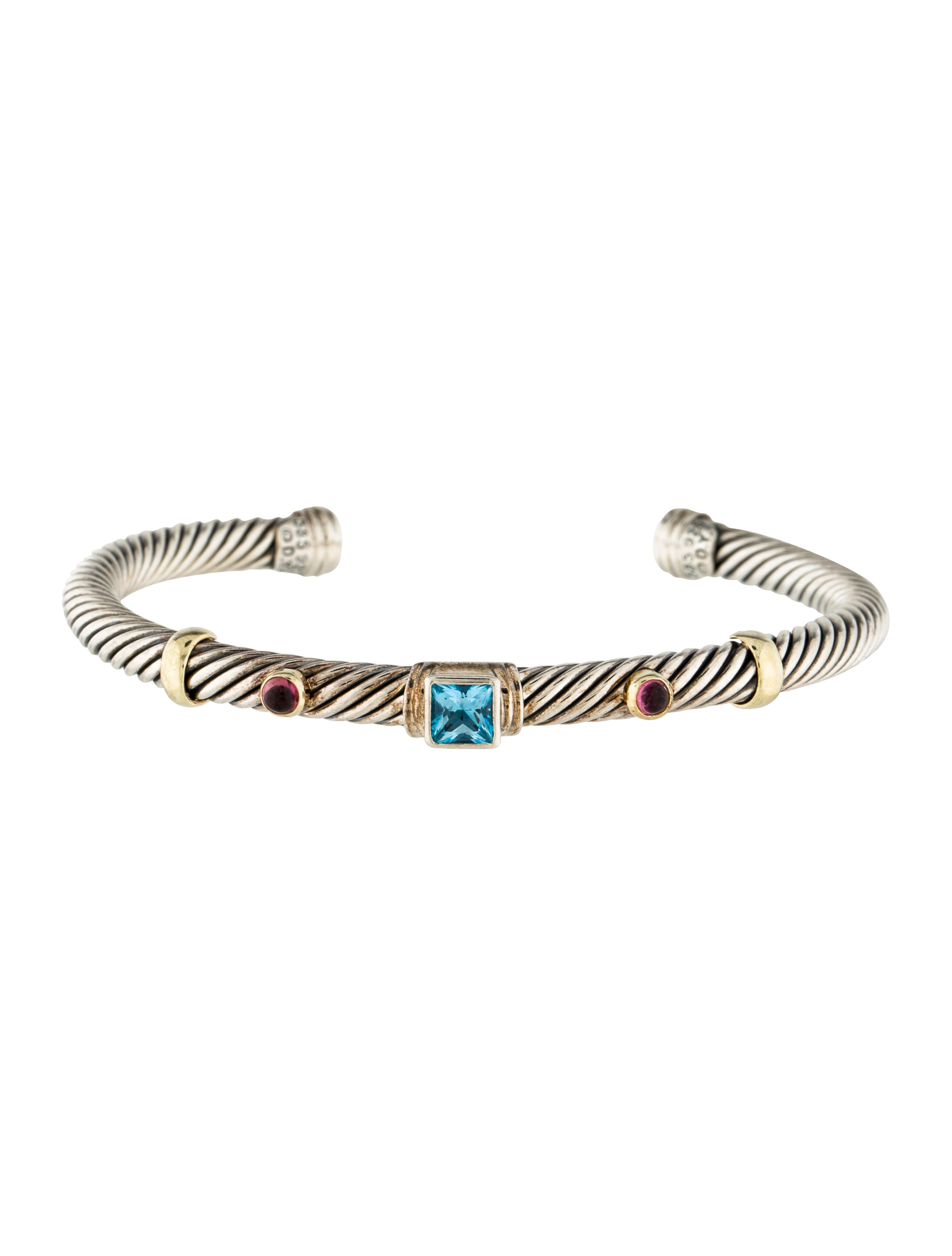David yurman cable bracelet bracelets dvy42254 the for David yurman inspired bracelet cable