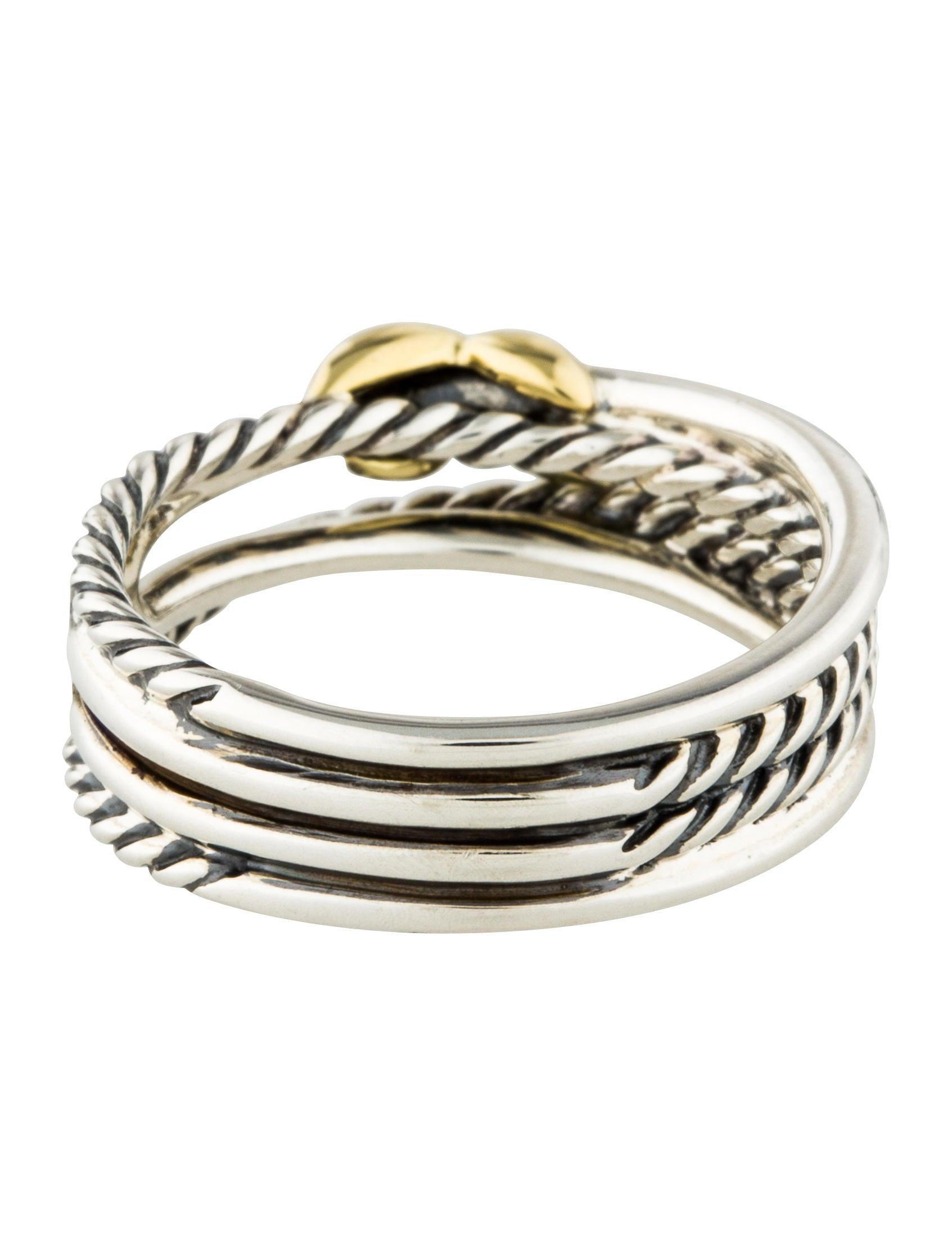 David Yurman Crossover X Ring