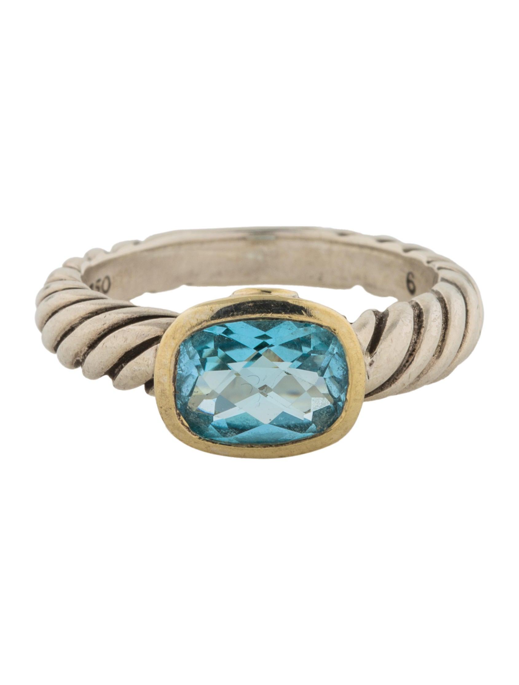 David yurman topaz noblesse ring rings dvy43163 the for David yurman inspired jewelry rings