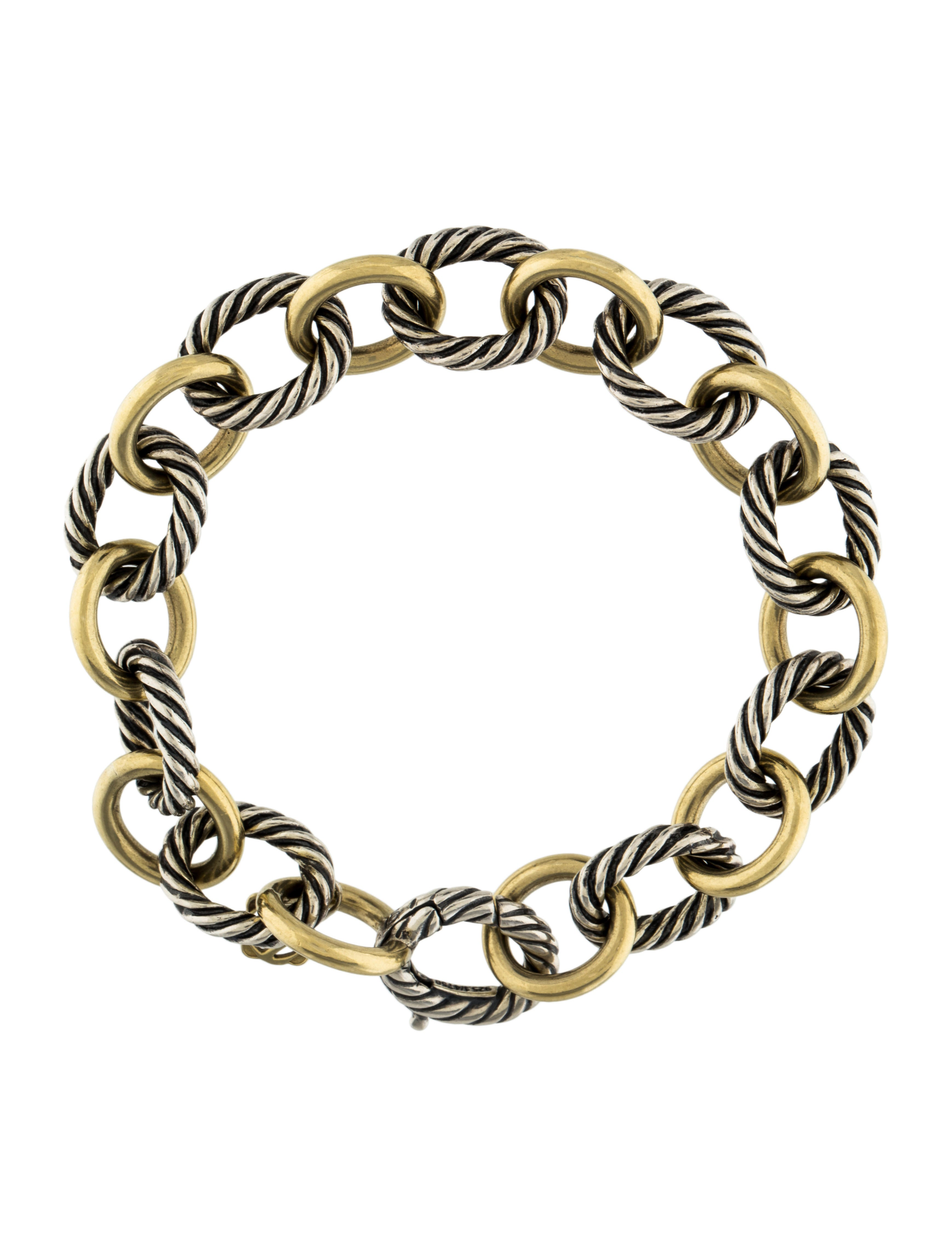 david yurman oval link bracelet david yurman large oval link bracelet bracelets 7674