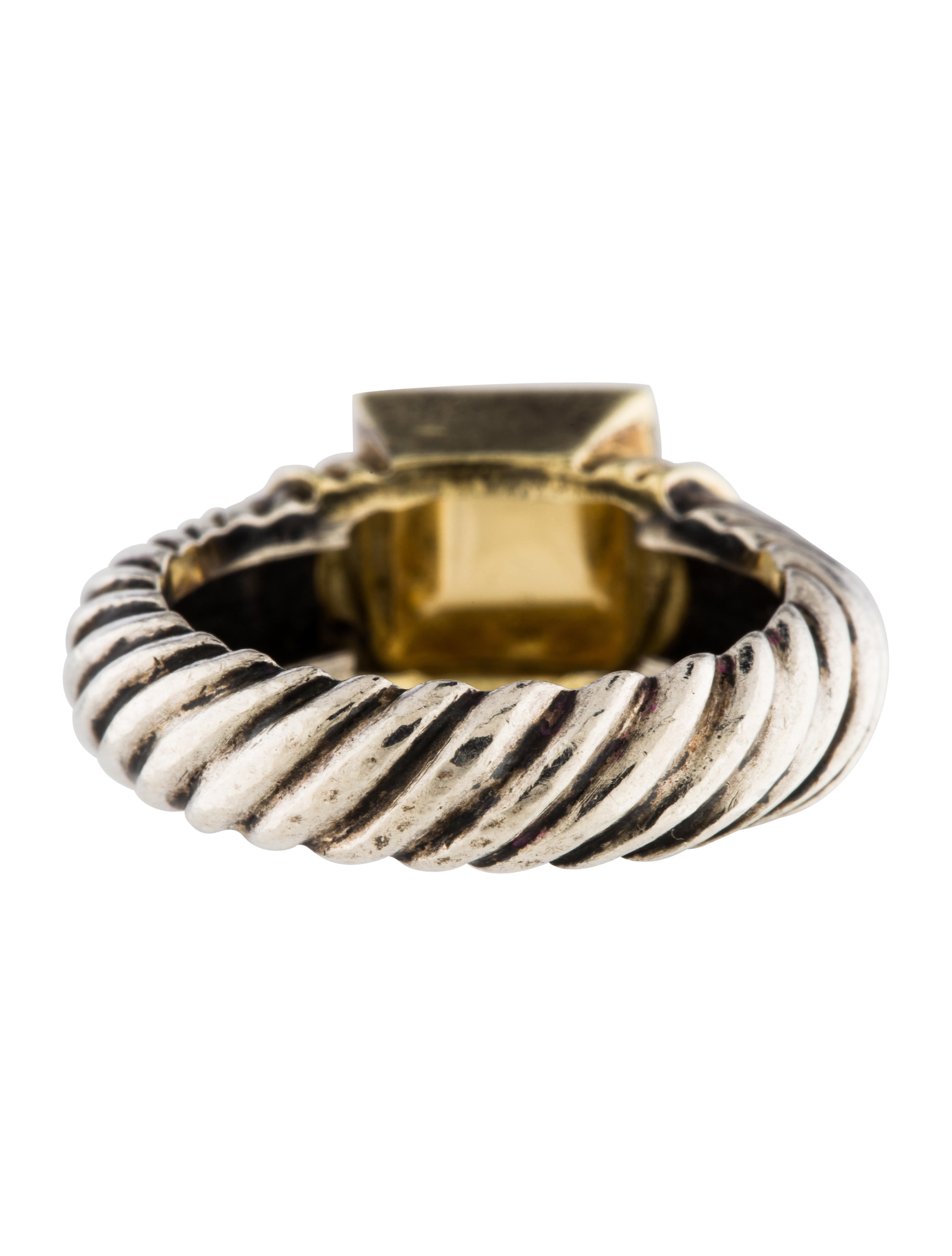 david yurman citrine cocktail ring rings dvy43791