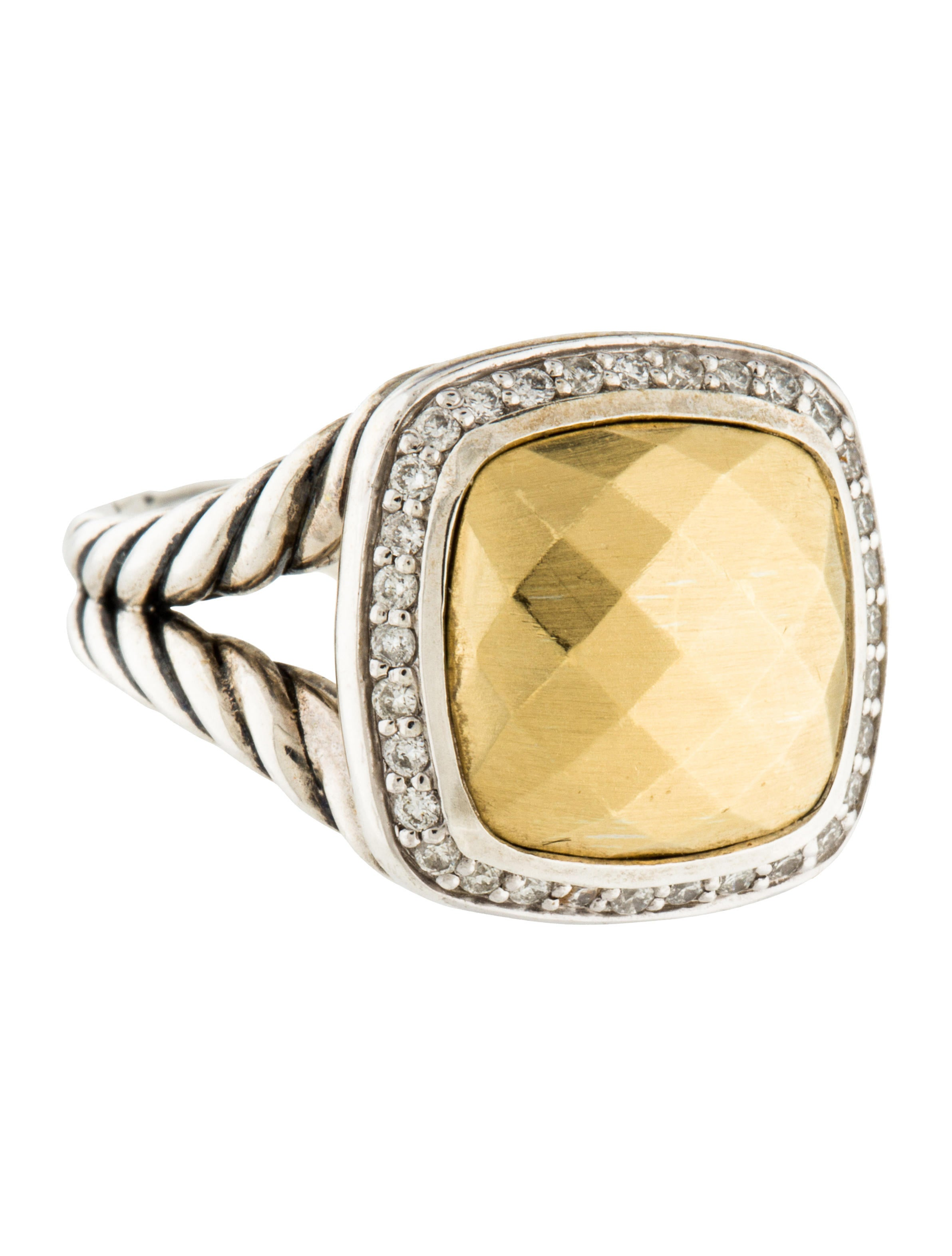 David yurman albion ring rings dvy43792 the realreal for David yurman inspired jewelry rings