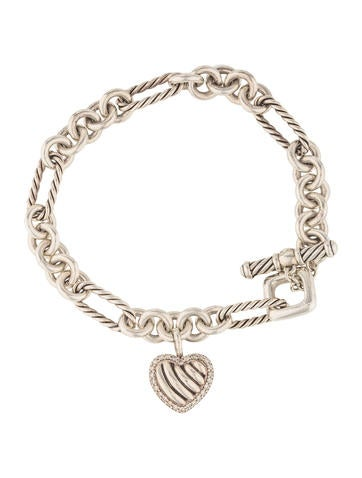 david yurman charm bracelet david yurman cable toggle charm bracelet 7811