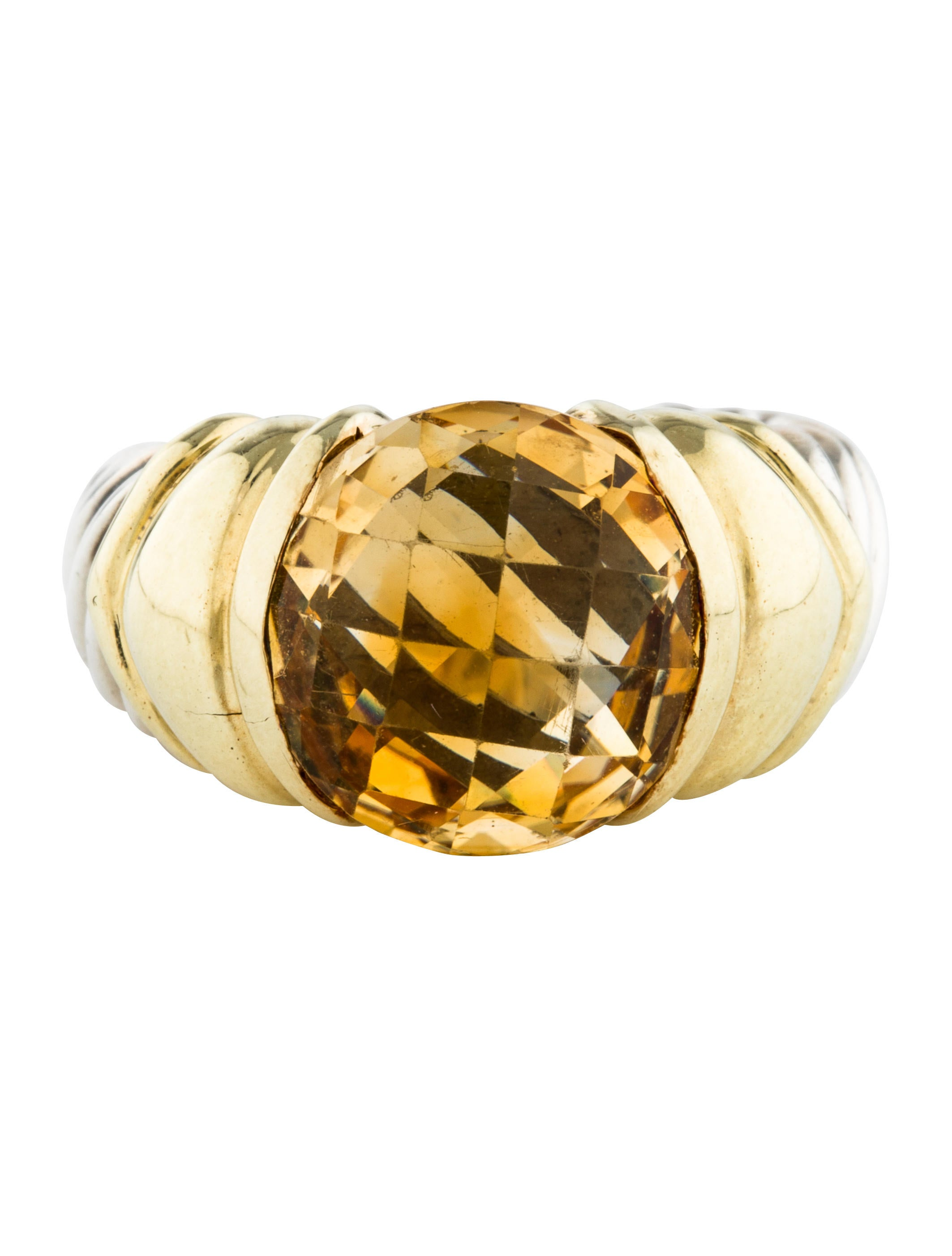 david yurman citrine cocktail ring rings dvy44064