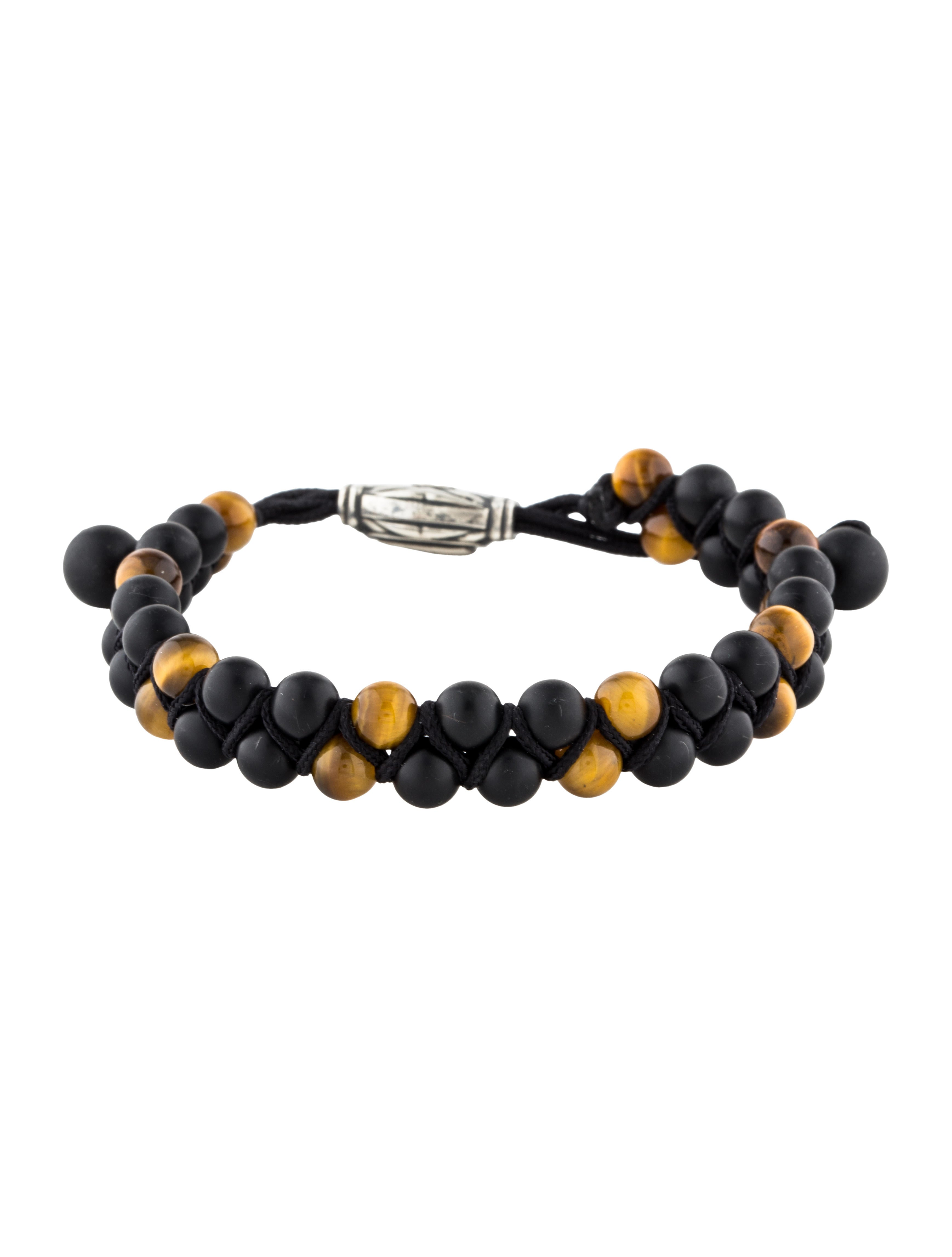 b3ae31d5eea36 Onyx & Tiger's Eye Spiritual Beads Two-Row Bracelet