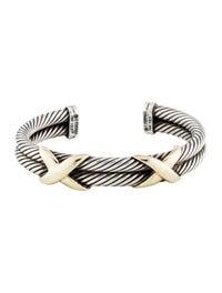 David Yurman Double X Bracelet