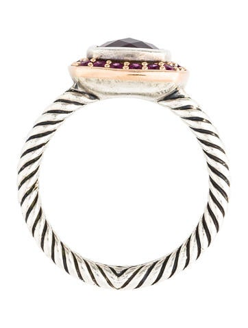 Garnet & Pink Sapphire Albion Ring