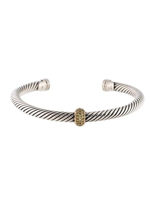 David Yurman Yellow Sapphire Cable Candy Bracelet