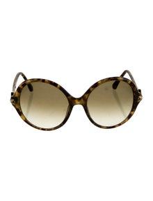 David Yurman Round Gradient Sunglasses