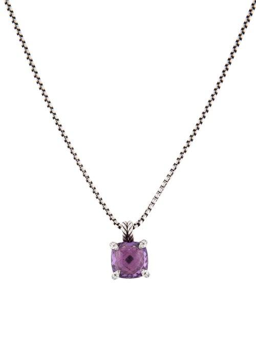 David Yurman Amethyst & Diamond Châtelaine Pendant