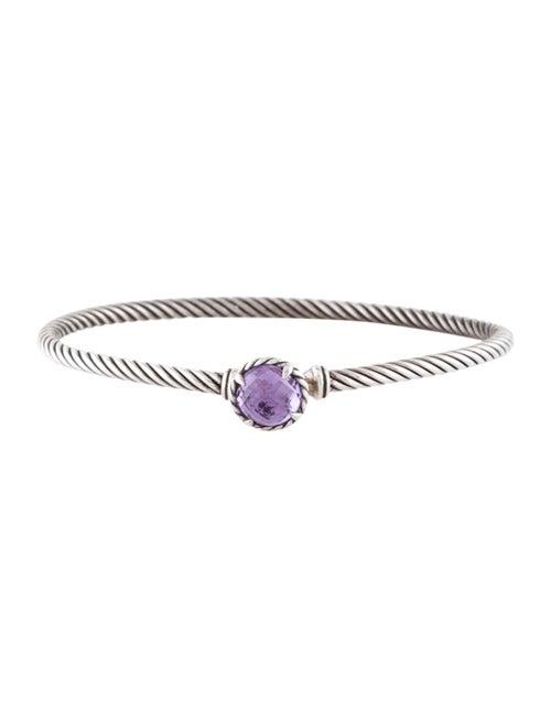 David Yurman Amethyst Châtelaine Bracelet Silver