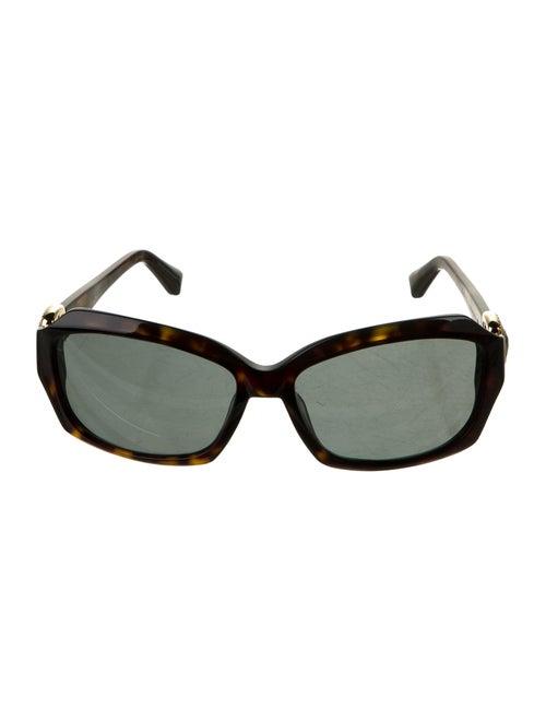 David Yurman Crystal Embellished Square Sunglasses