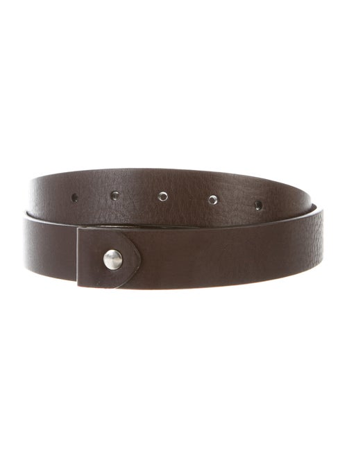 David Yurman Leather Belt Brown