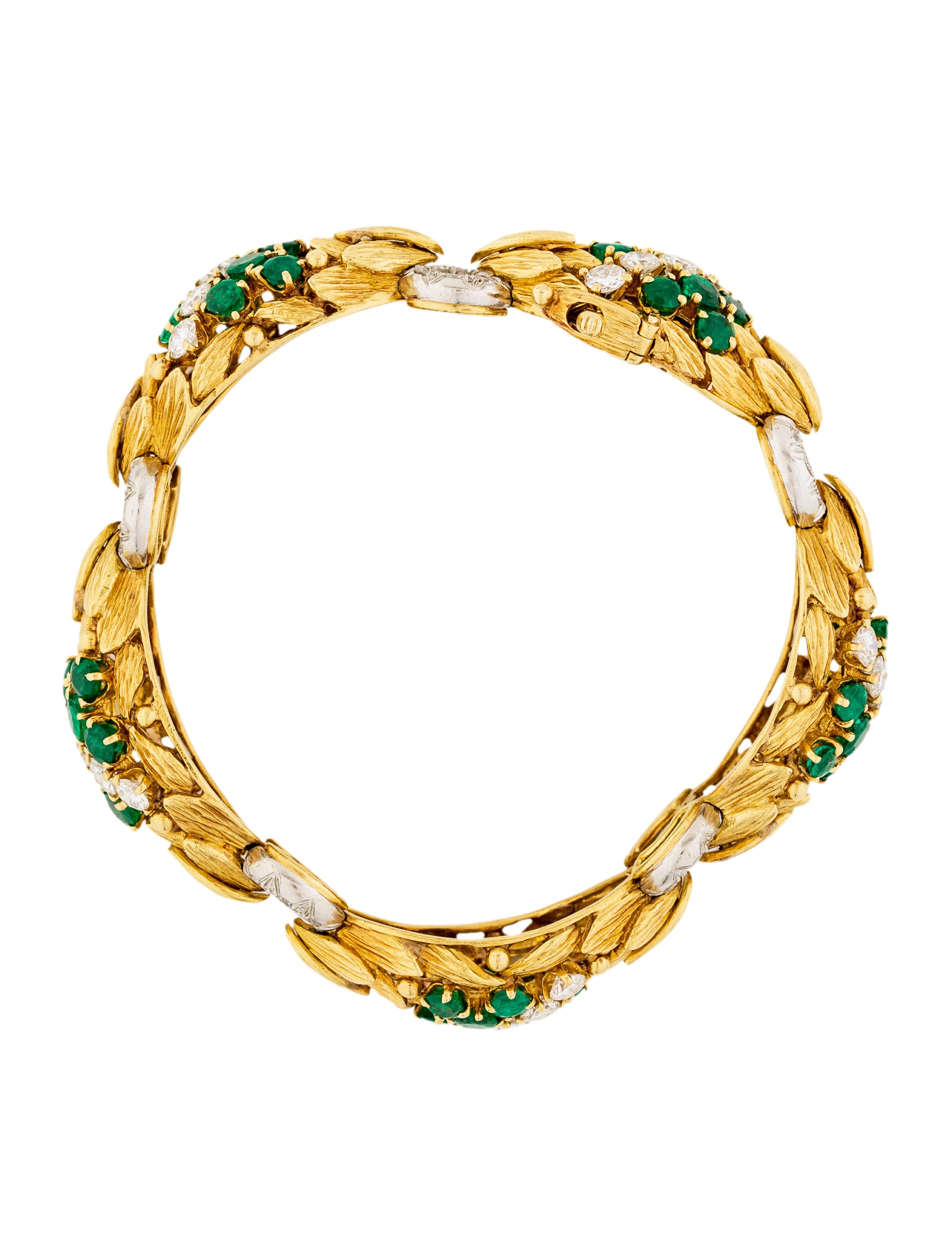 bracelet colombian emeralds emerald product lightbox tennis img yellow gold
