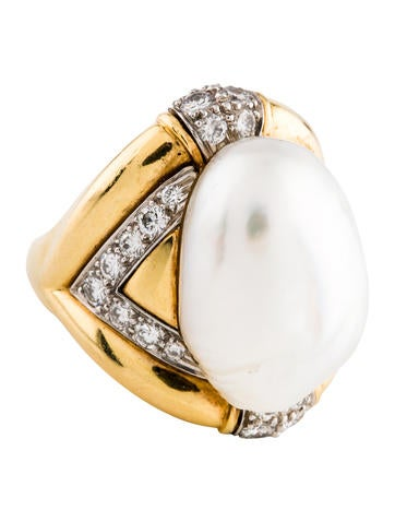David Webb Baroque Pearl & Diamond Cocktail Ring  Rings. Vine Wedding Rings. Men's Irish Wedding Rings. Chalcedony Engagement Rings. Heart Pandora Rings. Queen Mother's Engagement Rings. Pagan Wedding Rings. Healthy Rings. Palestinian Wedding Rings