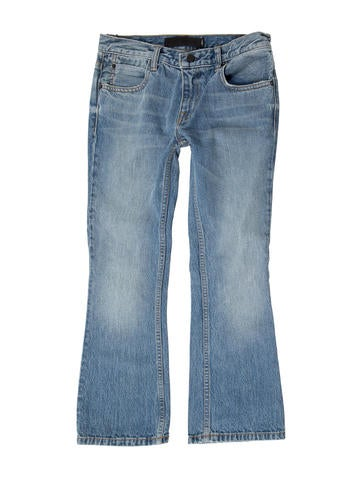 Trap Mid-Rise Jeans w/ Tags