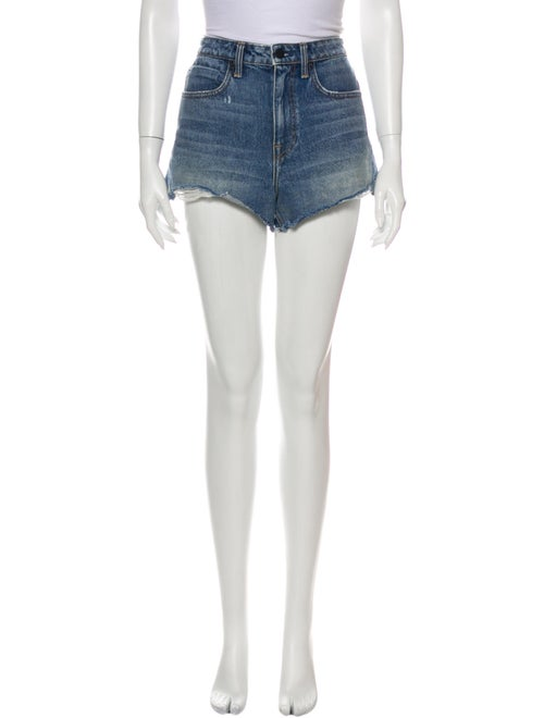 Denim x Alexander Wang Mini Shorts Denim
