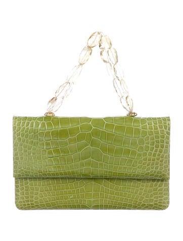 Darby Scott. Mini Alligator Necklace Bag 4867dec22ee51