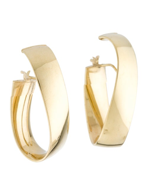 Earrings 14K Hoop Earrings Yellow