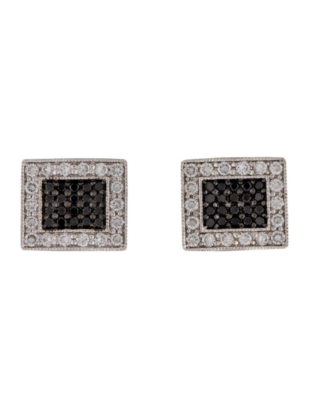 Earrings 18K Diamond Stud Earrings White - image 1