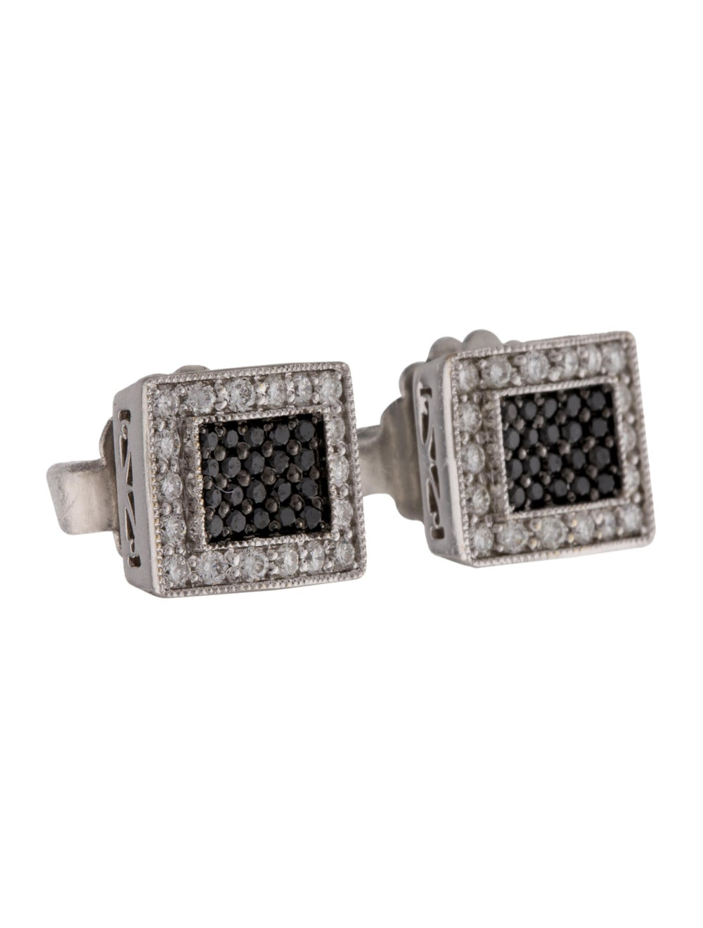 Earrings 18K Diamond Stud Earrings White - image 3