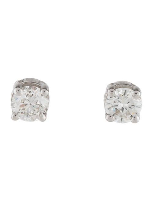 Earrings 14K Diamond Stud Earrings White