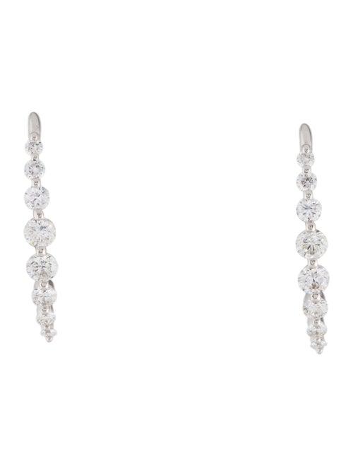 Earrings 18K Diamond Stud Earrings White