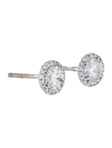 18K Diamond Stud Earings
