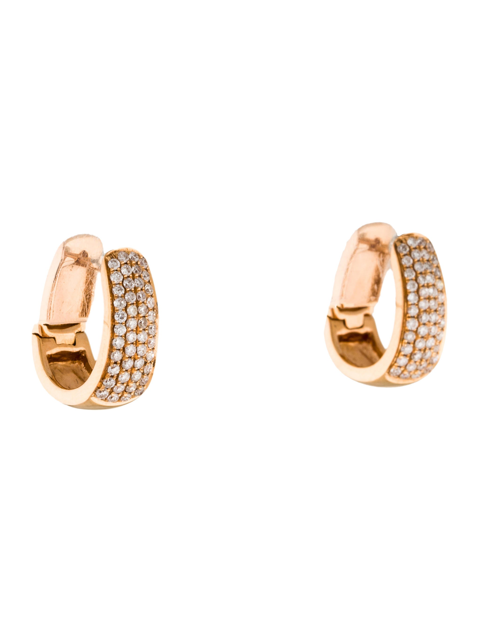 18k huggie earrings earrings earri33189 the
