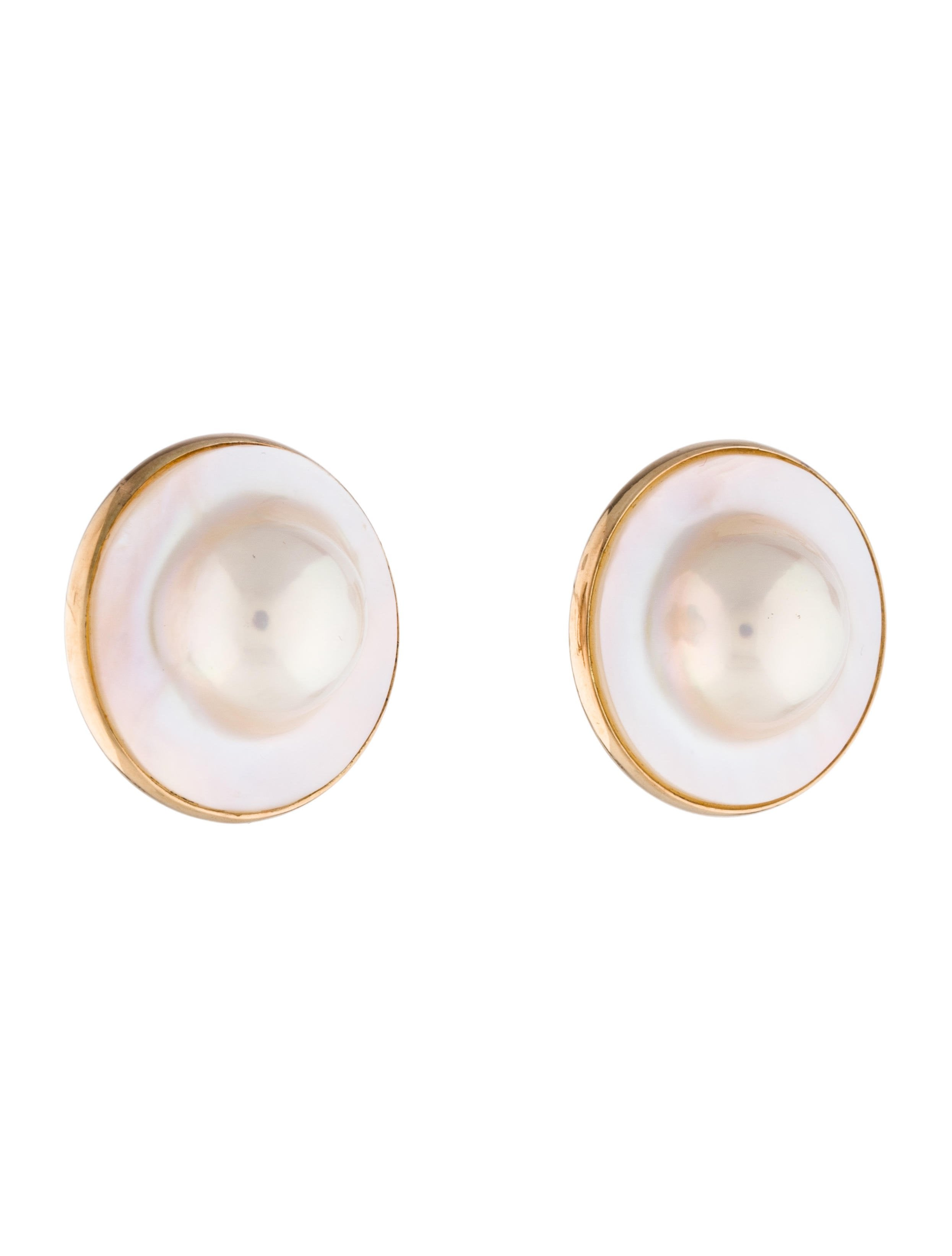 14k Pearl & Mother Of Pearl