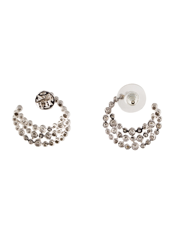 14k diamond crescent earrings earrings earri33769. Black Bedroom Furniture Sets. Home Design Ideas