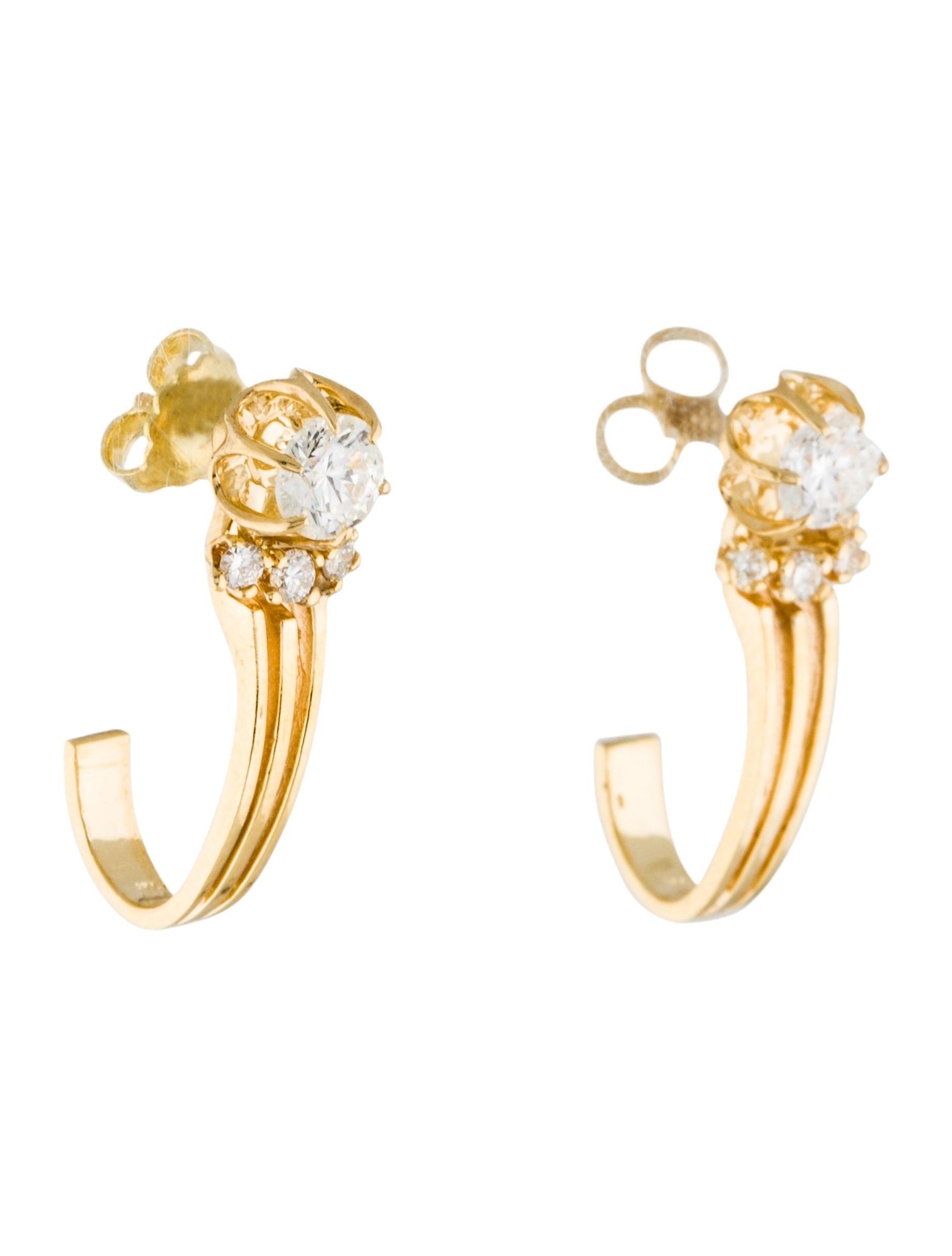 14k diamond earring jackets earrings earri35845 the. Black Bedroom Furniture Sets. Home Design Ideas