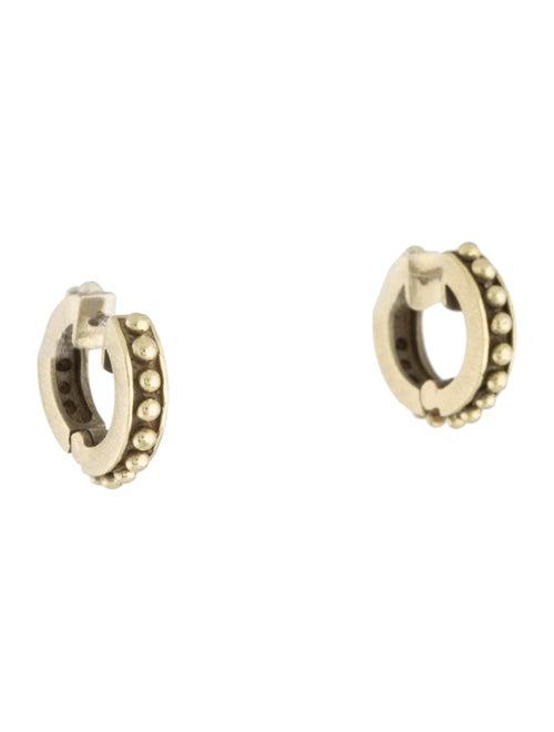 14K Huggie Earrings yellow