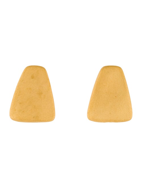 24K Earclips yellow