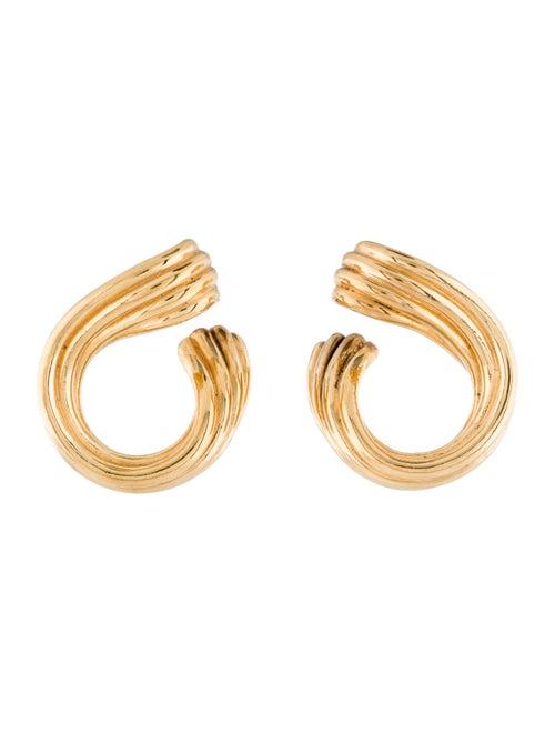 18K Drop Earrings yellow